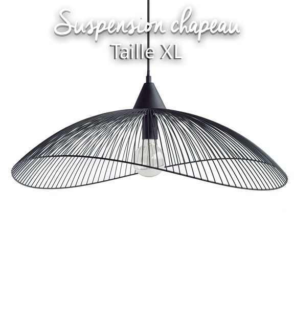 Suspension chapeau XL