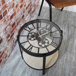 Table horloge mécanique