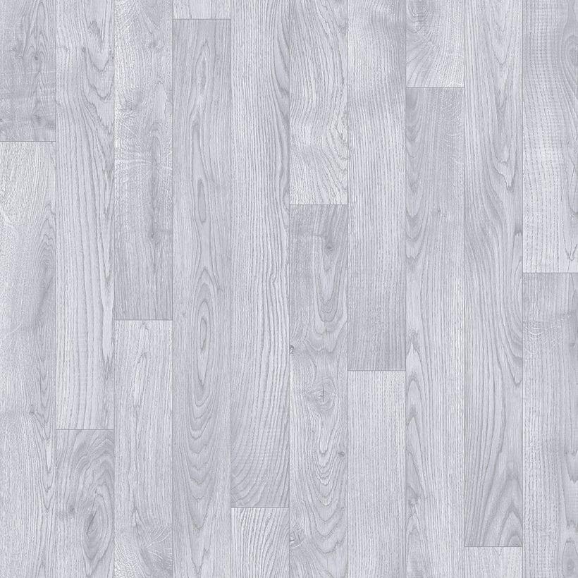 Sol vinyle pin blanc grisé Massa 400cm