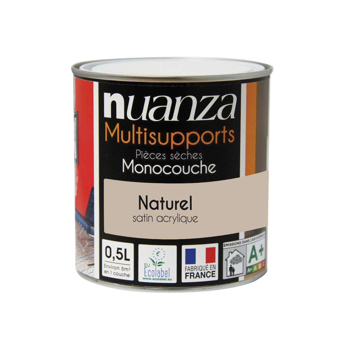 Peinture naturel satin monocouche Nuanza