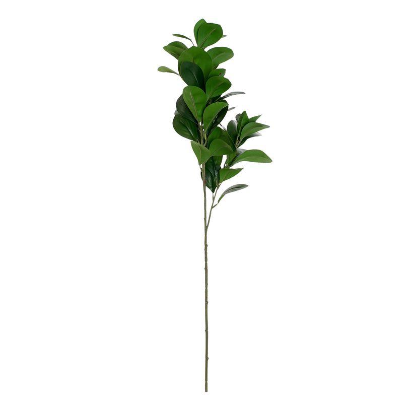 Plante métal branche vert foncé