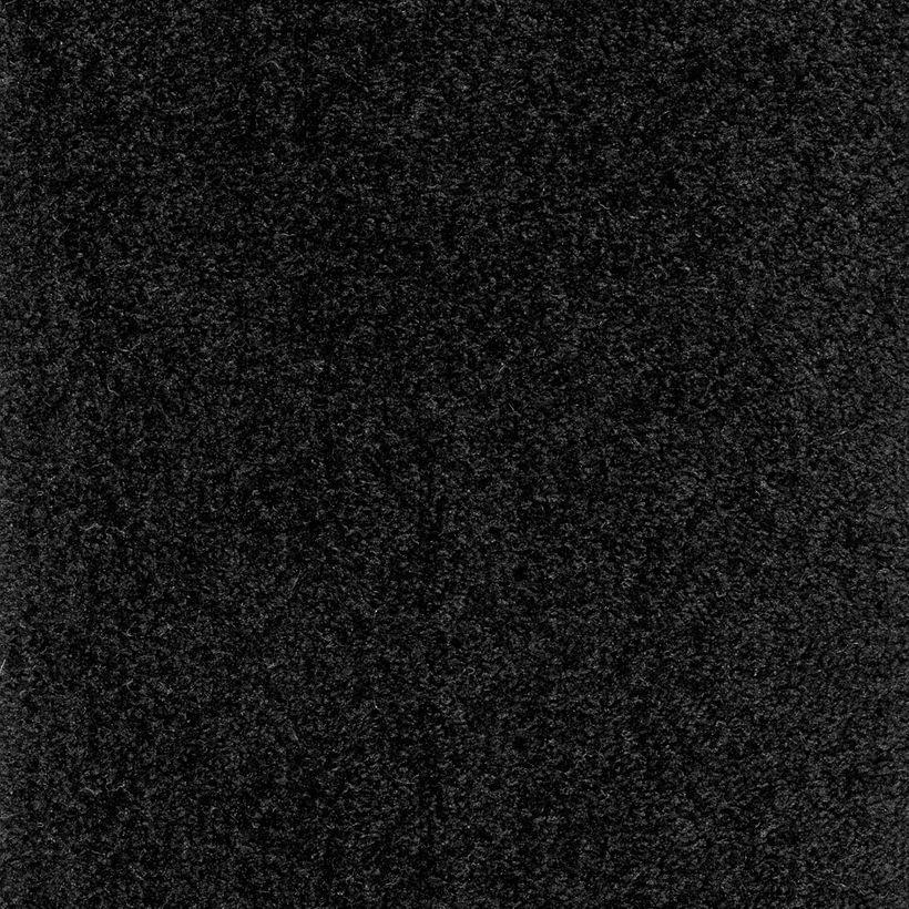 Moquette velours noir Madison 400cm