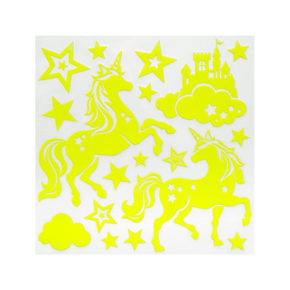 Sticker étoile phosphorescentes
