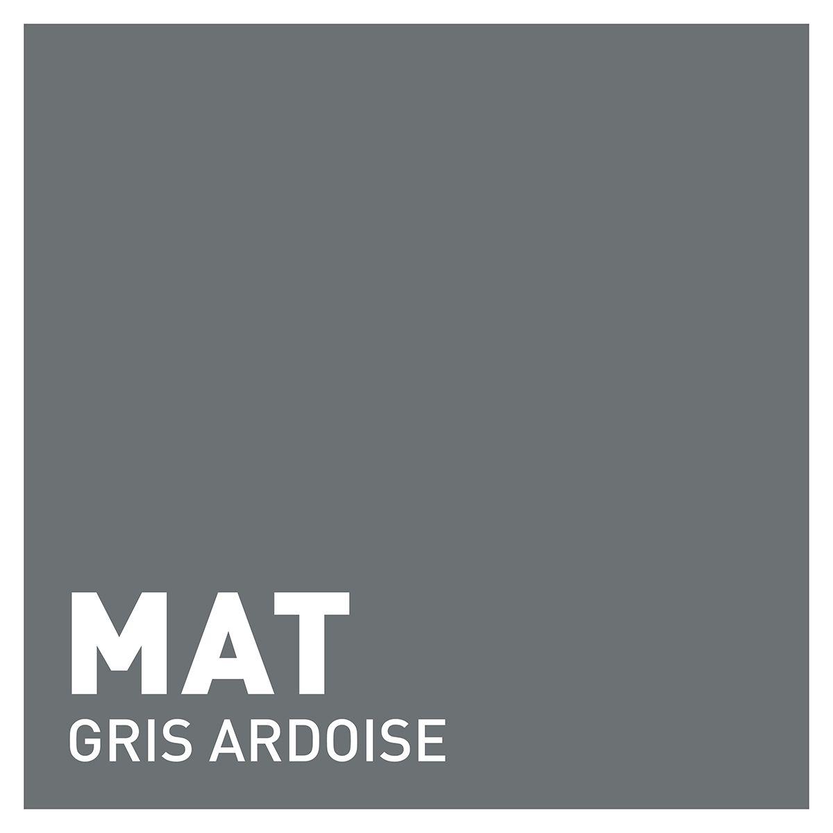 Peinture gris ardoise mat 20 minutes chrono Renaulac