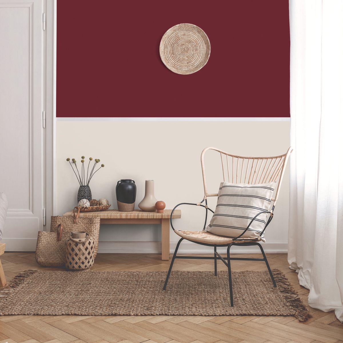 Peinture rouge intense mat 20 minutes chrono Renaulac
