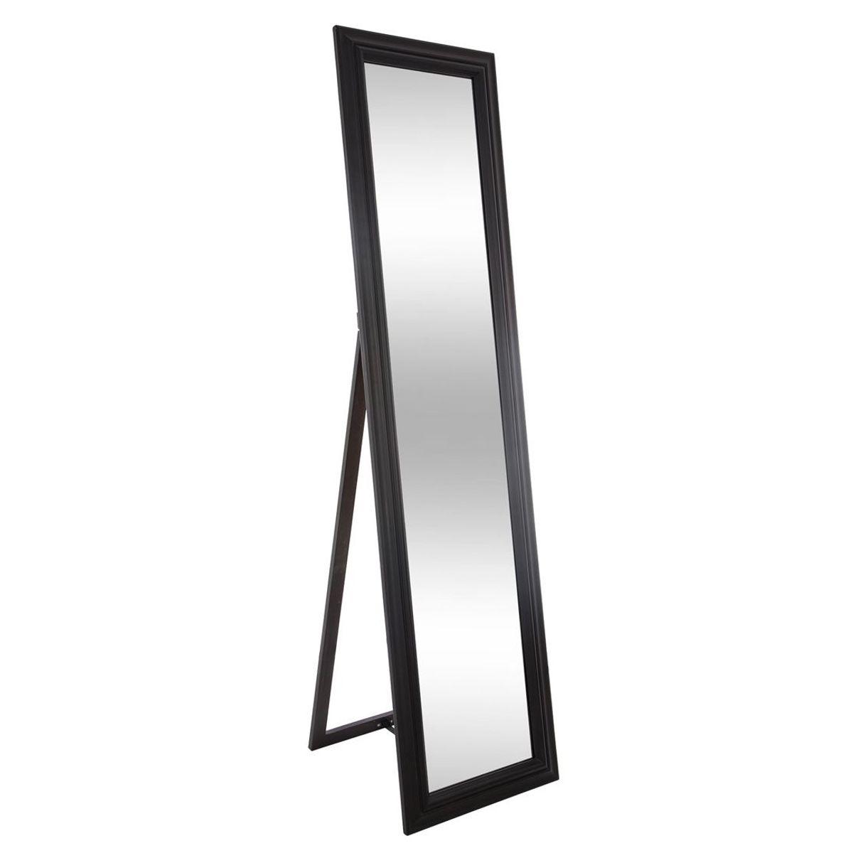 Miroir sur pied manoir noir
