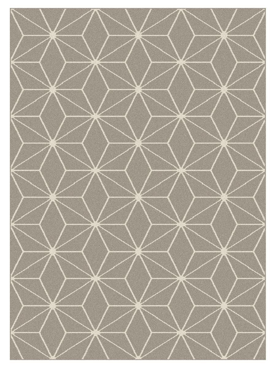 Tapis Maoke cubic gris 160x220cm
