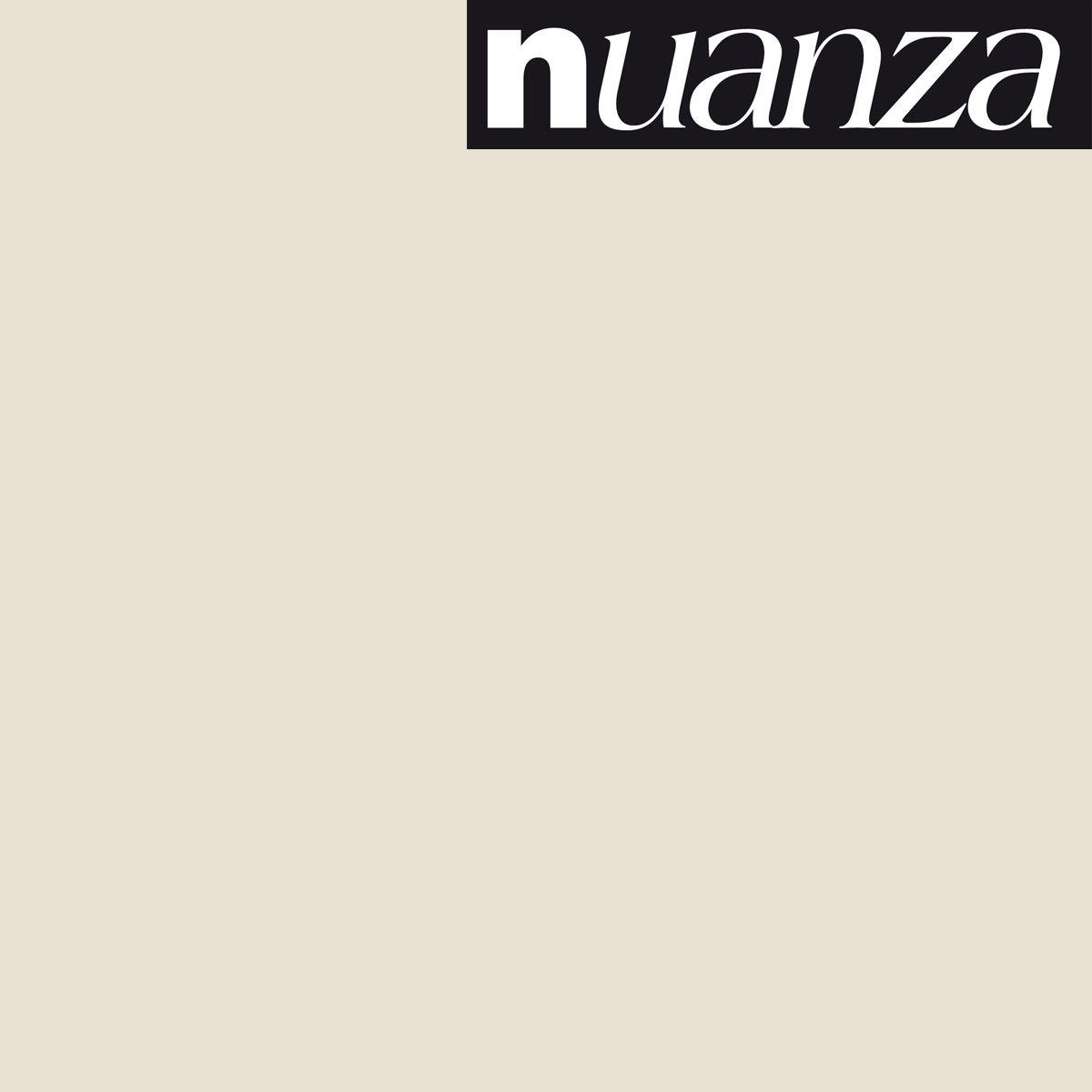Peinture Nuanza satin monocouche naturel 0.5l