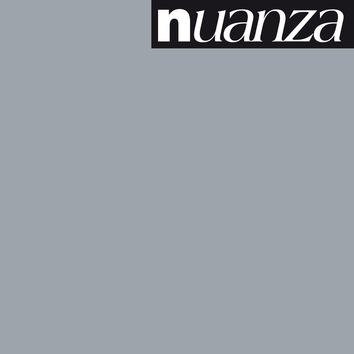 Peinture Nuanza satin monocouche gris béton 0.5l