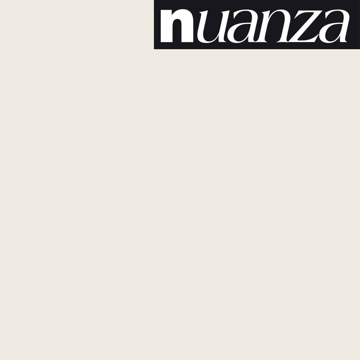 Peinture Nuanza satin monocouche craie 0.5l