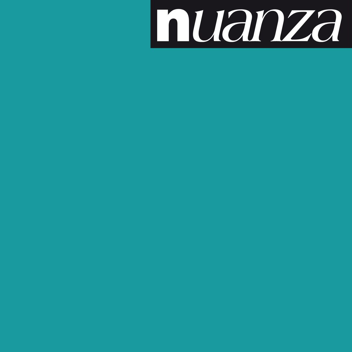 Peinture bleu lagon satin multisupports Nuanza 2.5l