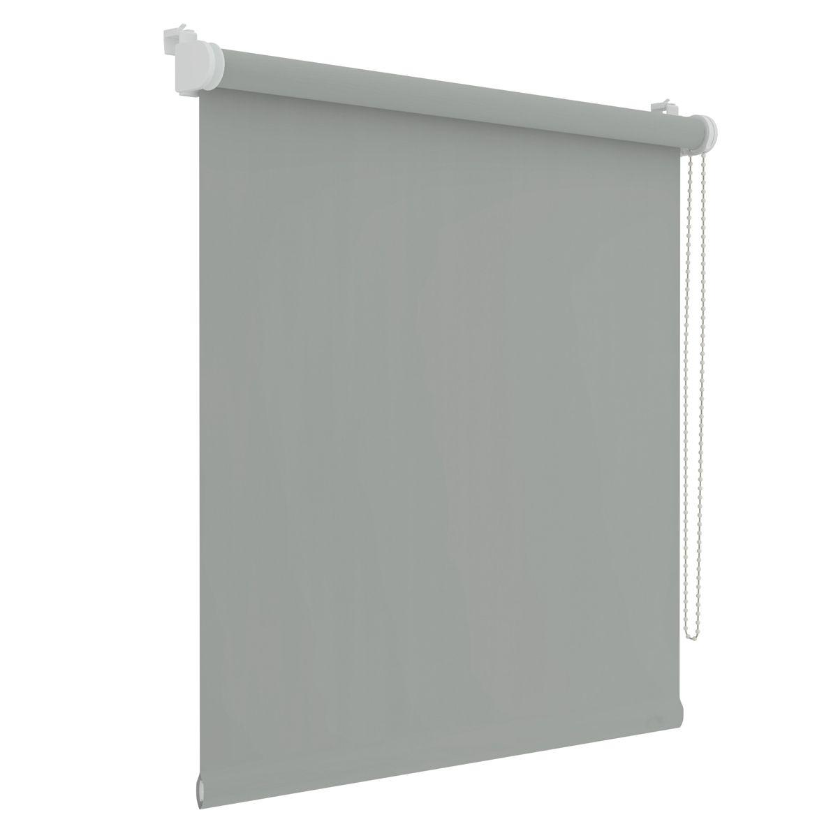 Store enrouleur occultant Dalvik gris clair 67x160cm