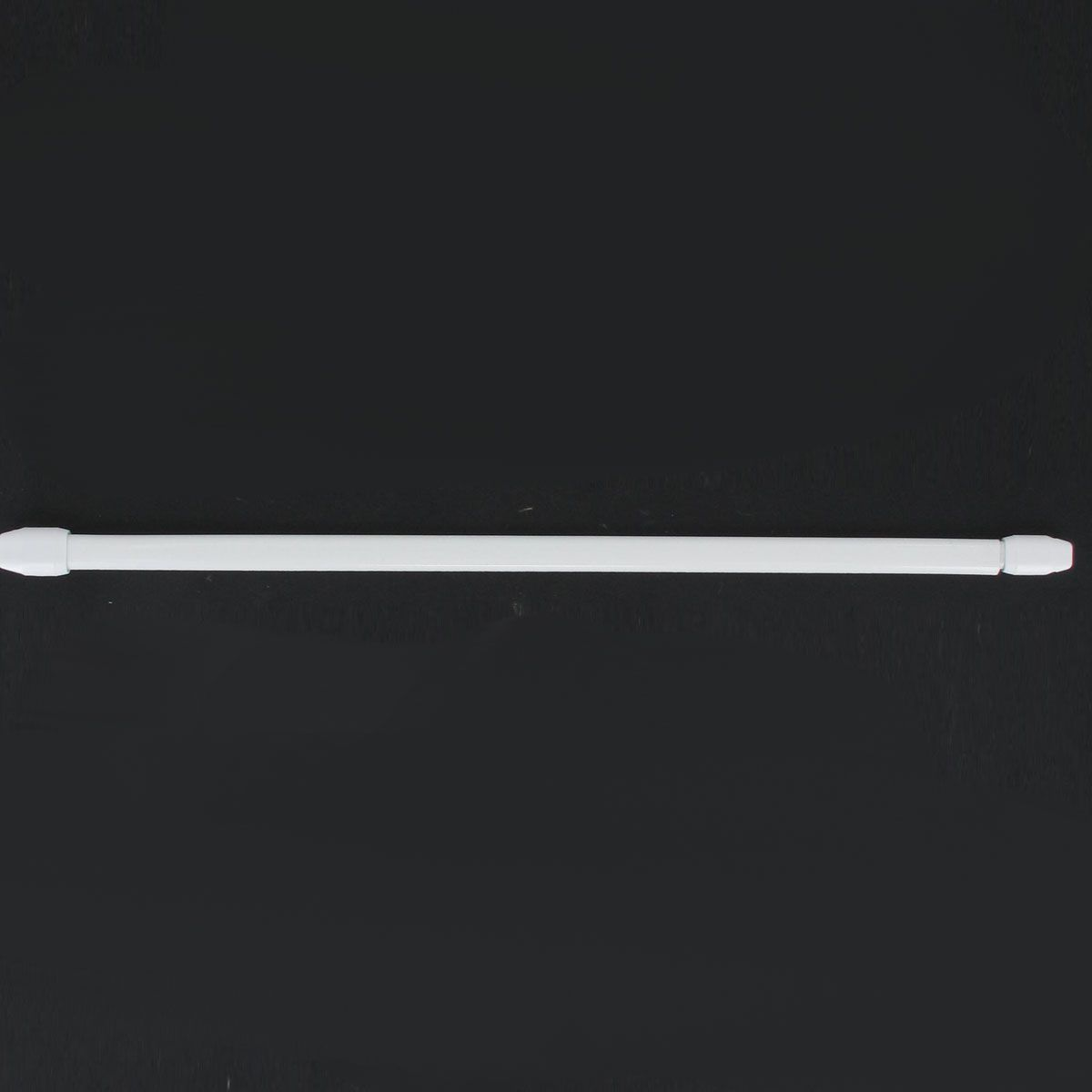 Tringle vitrage ext blanc 40x60cm