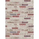 Papier peint brique havanne Bricktop intissé