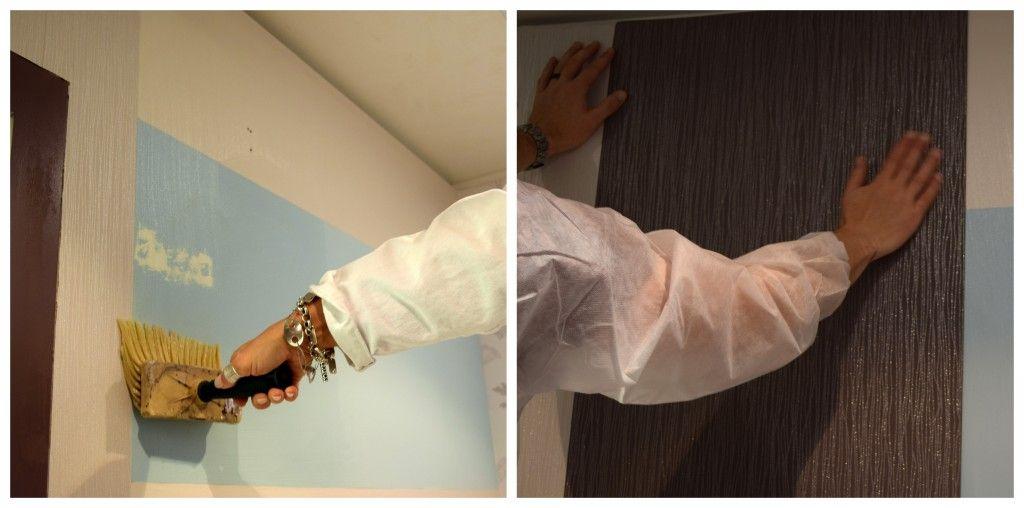 Comment Poser Du Papier Peint Intisse Tuto Deco Kalico