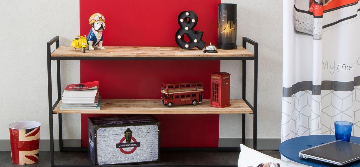 d coration london chambre d 39 ado et ambiance world kalico. Black Bedroom Furniture Sets. Home Design Ideas
