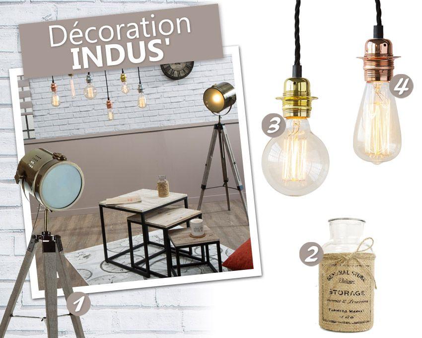 Decoration Industrielle Loft Atelier Et Style Factory Pas