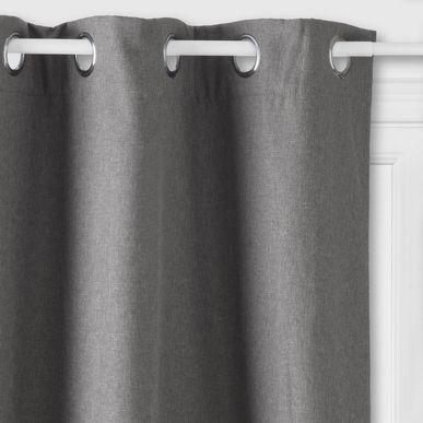rideau isolant thermique et phonique gris rideau pas. Black Bedroom Furniture Sets. Home Design Ideas