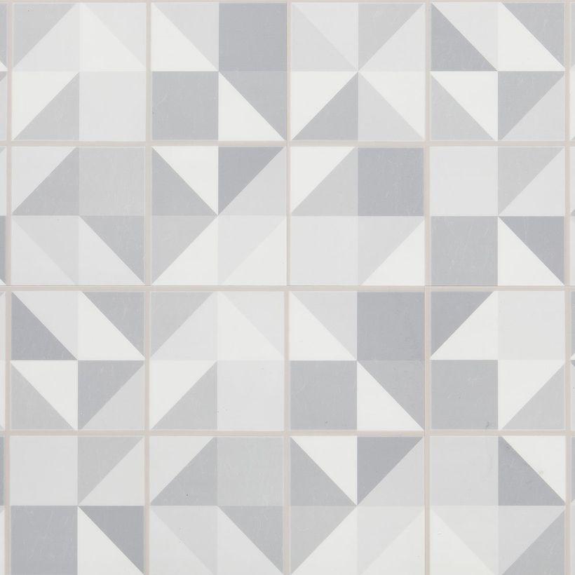Dalle pvc clipsable effet scandinave gris 4mm Moderno