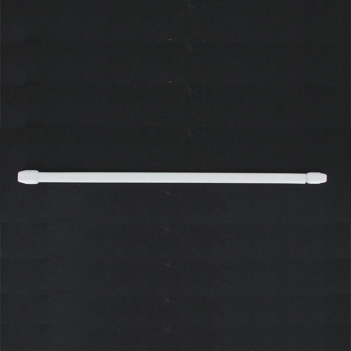 Barre de vitrage extensible blanc (X2) 60/80 cm