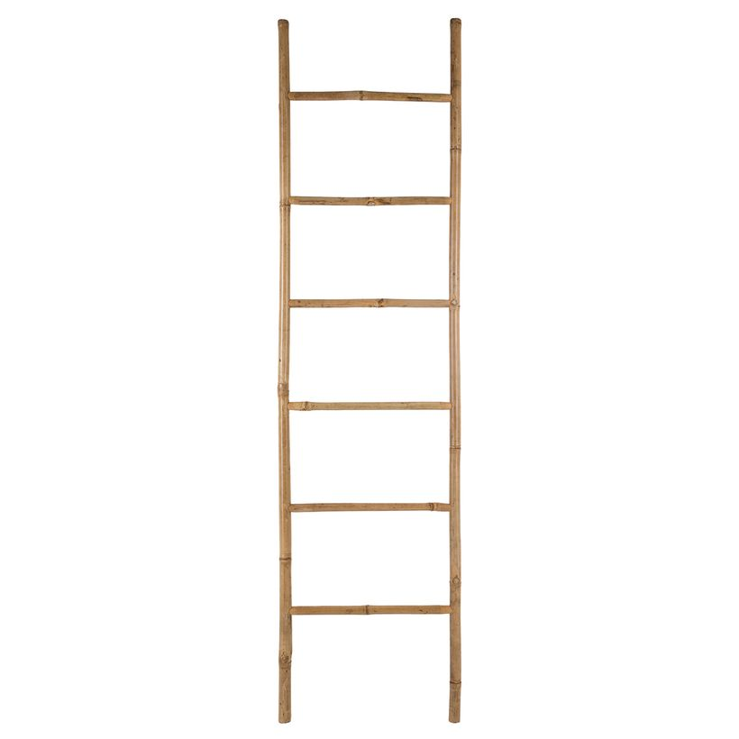 Echelle en bambou H. 190 cm